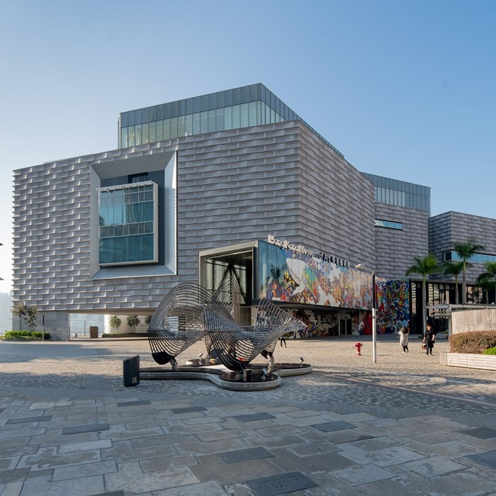 3D Modular Facade Reclad with EQUITONE for the Hong Kong Museum of Art