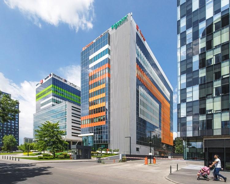 Green Court, clădire de birouri, București, EQUITONE [tectiva] TE90