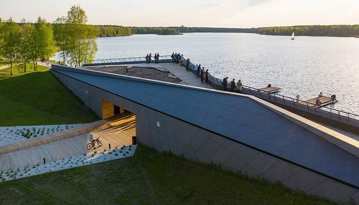 MOSM-kanocentrum met EQUITONE, finalist Building of the Year 2021