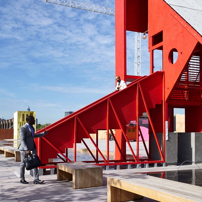 Building Of The Month  -  August 2015 -The Red Pavillion