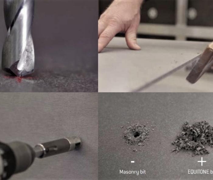 ¿Qué herramientas y accesorios son necesarios para la instalación de EQUITONE?