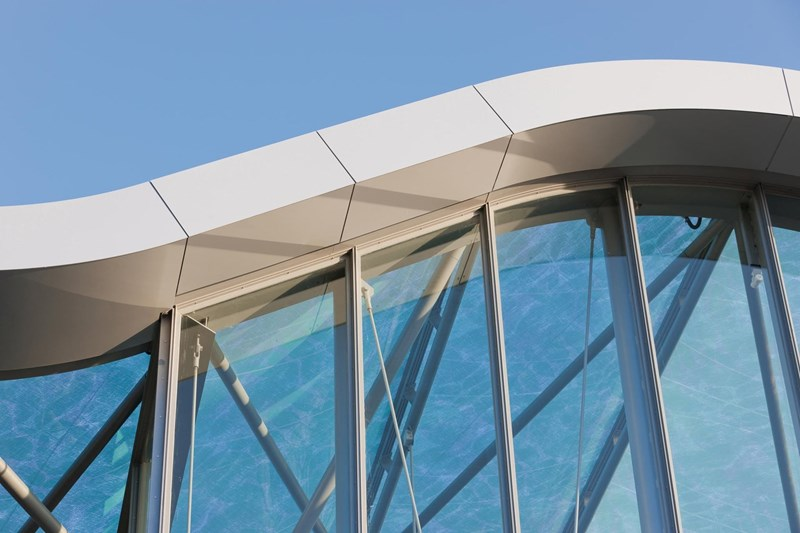EQUITONE Pictura fiber cement façade