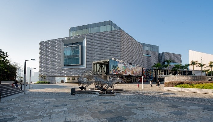 Adaptação modular do Museu de Arte de Hong Kong