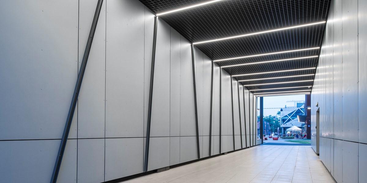 Centrum Praskie Koneser - płyty włókno-cementowe EQUITONE