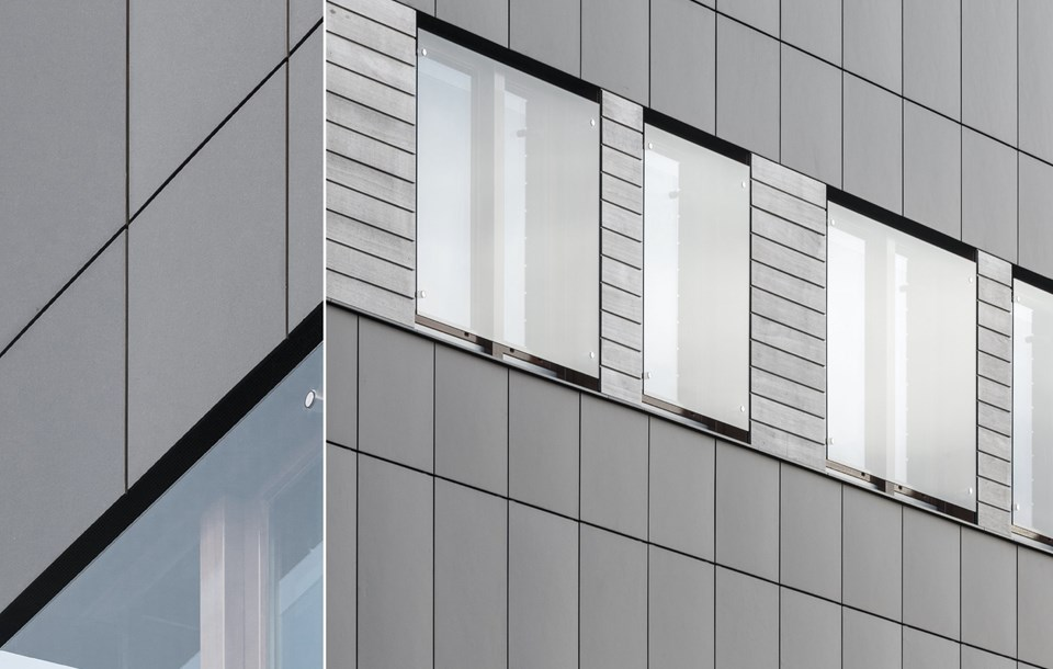 How to make join when placing Equitone cladding
